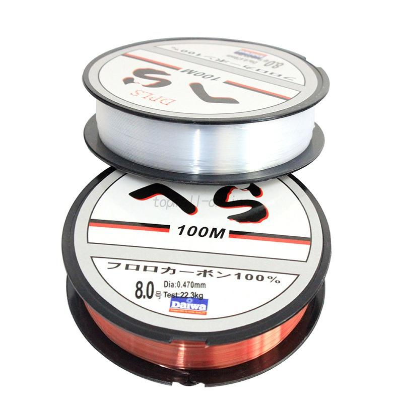 Nylon fishing tackle lines fluorocarbon line fluorocarbon for Nylon fishing line