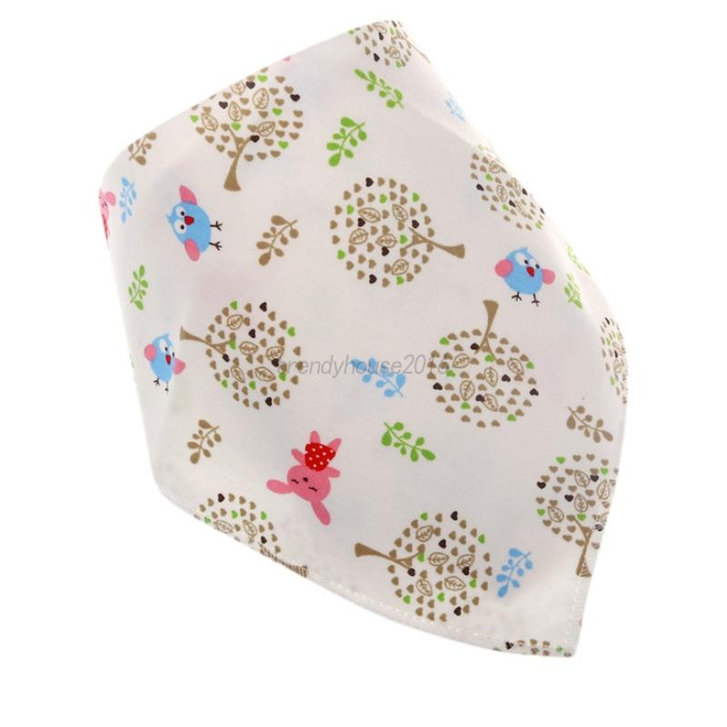 4Pcs-Baby-Feeding-Bibs-Kids-Bandana-Saliva-Towel-Dribble-Triangle-Cotton-Set