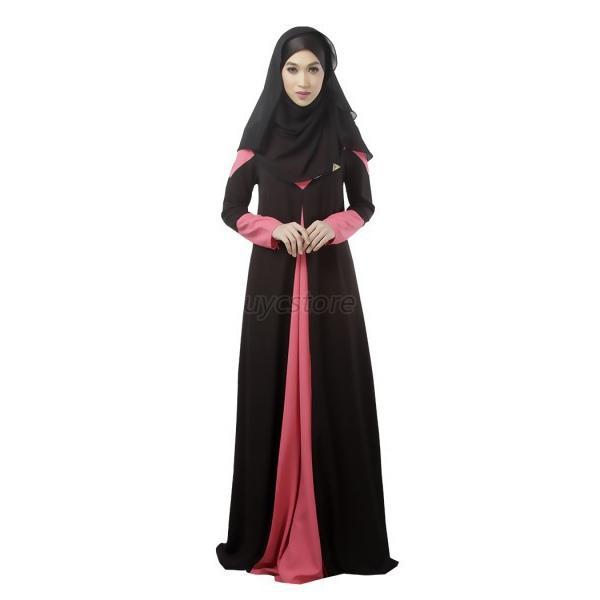 Kaftan-Islamic-Maxi-Long-Dress-Jilbab-Chiffon-Abaya-Net-Hijab-Party-Muslim-Gown