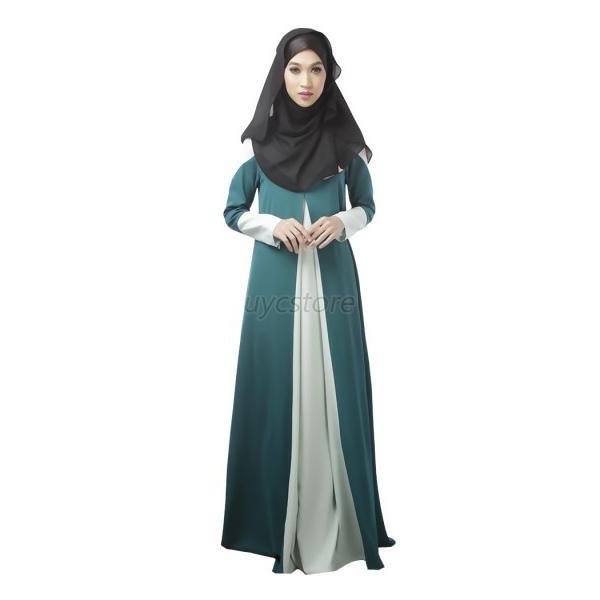 Kaftan Islamic Maxi Long Dress Jilbab Chiffon Abaya Net Hijab Party ...