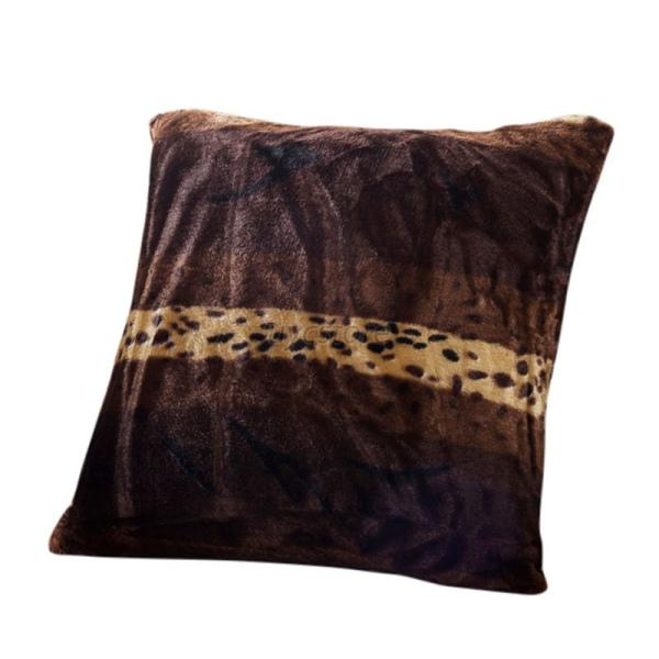 UK Animal Zebra Leopard Print Pillow Case Sofa