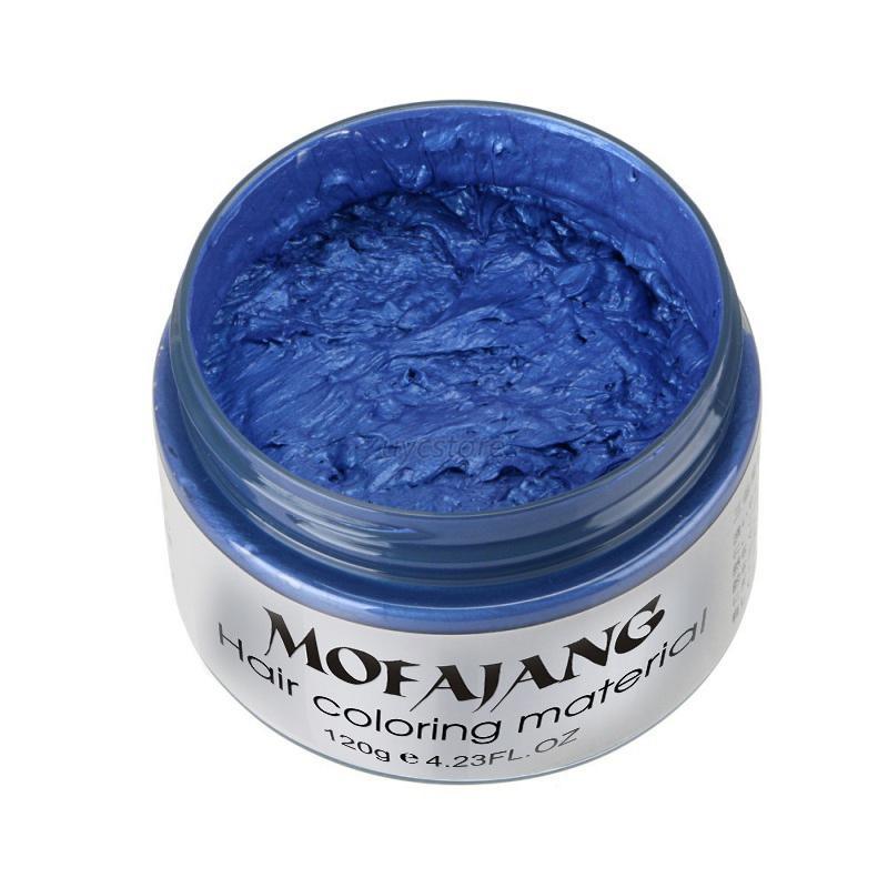 Fashion-DIY-Hair-Color-Unisex-Wax-Mud-Dye-Cream-Temporary-Hair-Modeling-7-Colors