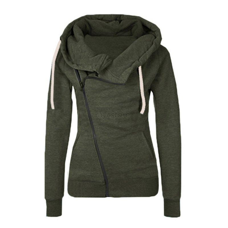 Nike® Women's Hoodies; Women's Under Armour® Hoodies; adidas® Hoodies for Women; Hoodies for women come in a variety of colors and are available in pullover and zip-up styles. Wear women's sweatshirts and hoodies over women's athletic tops and pair them with women's yoga pants for an ultra-comfortable look.