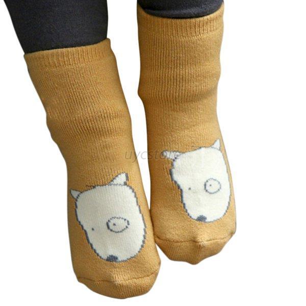 New Baby Kids Newborn Unisex Cartoon Non Slip Socks