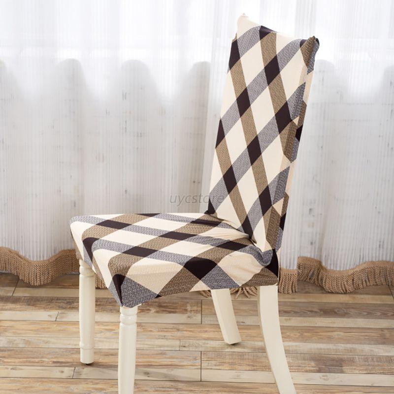 New Dining Room Wedding Banquet Elastic Chair Cover Seat Slipcover High Quali