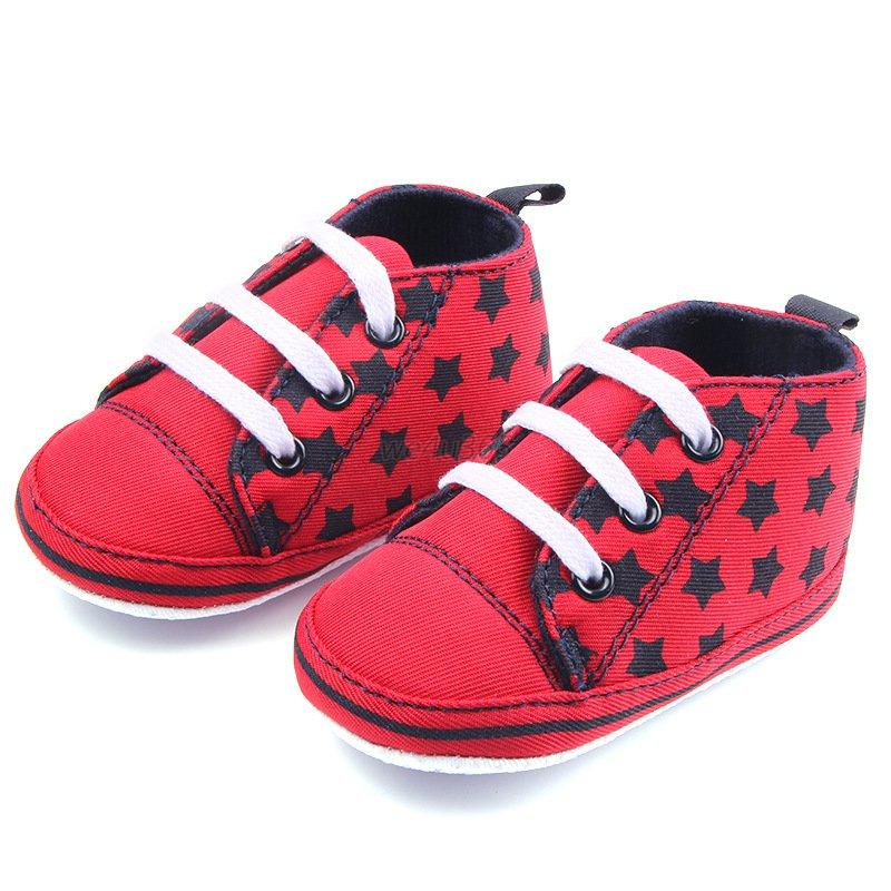 lovely toddler baby boy canvas shoes soft sole multi