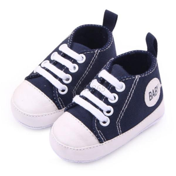 baby shoes toddler lace up canvas sneakers boys