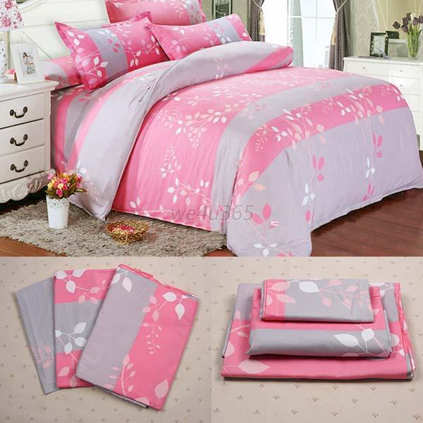 single double king duvet cover pillow case quilt cover
