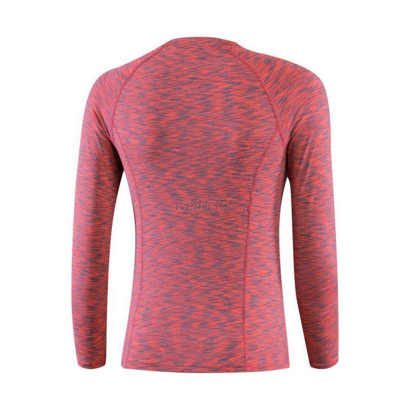 Women Sports Compression T Shirts Gym Yoga Athletic Long