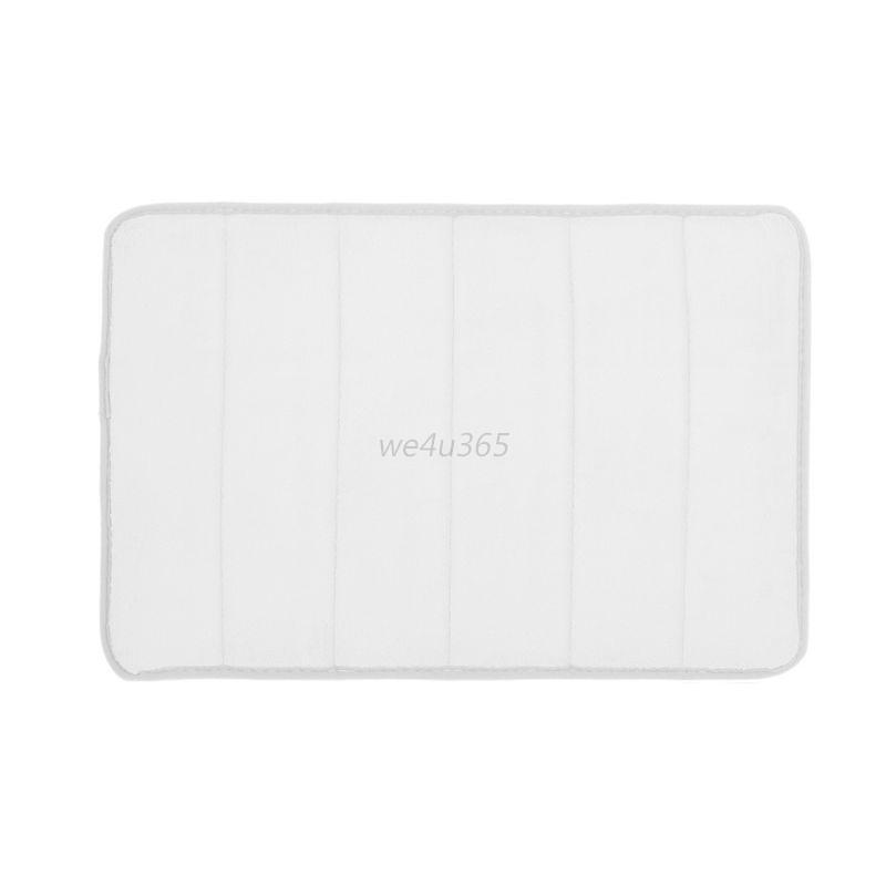 bath mat absorbent slip resistant pad bathroom bathmat rug 17 ebay