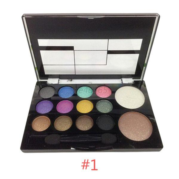 New Women Charming Makeup Cosmetic Power Set 14 Warm Color Palette Eye Shadow | EBay