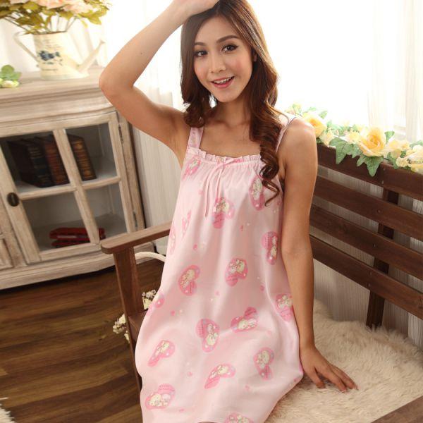 Great Cute Womens Cartoon Pig Pattern Sleepwear Pajamas Short ...