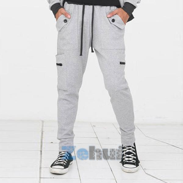 Men's SweatPants Harem Dance Baggy Jogging Hip Hop Sport ...
