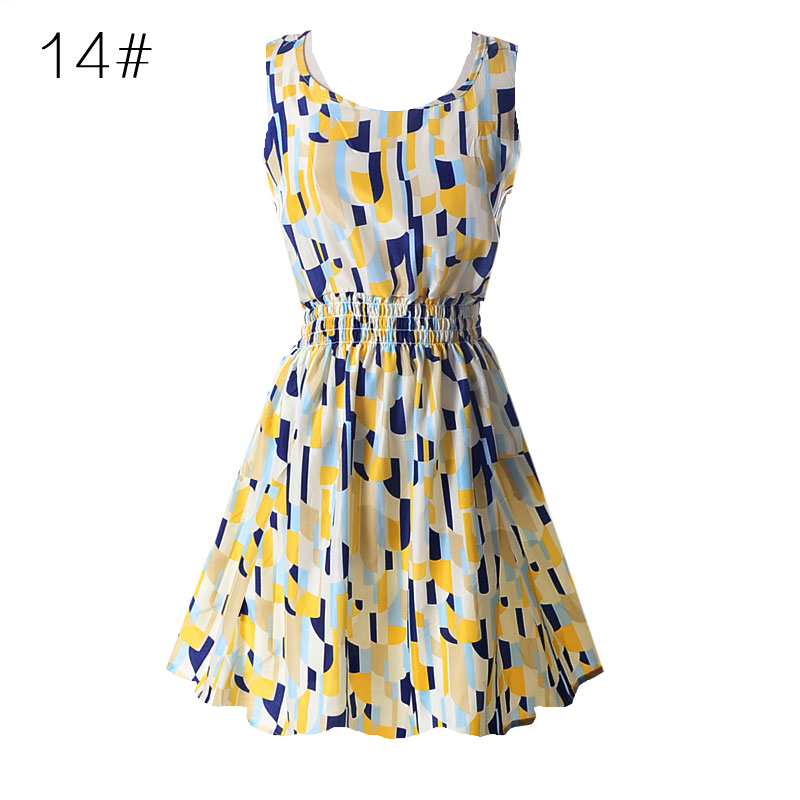 AU-Plus-Size-Women-Summer-Casual-Sleeveless-Mini-A-Line-Dress-Ladies-Beach-Dress