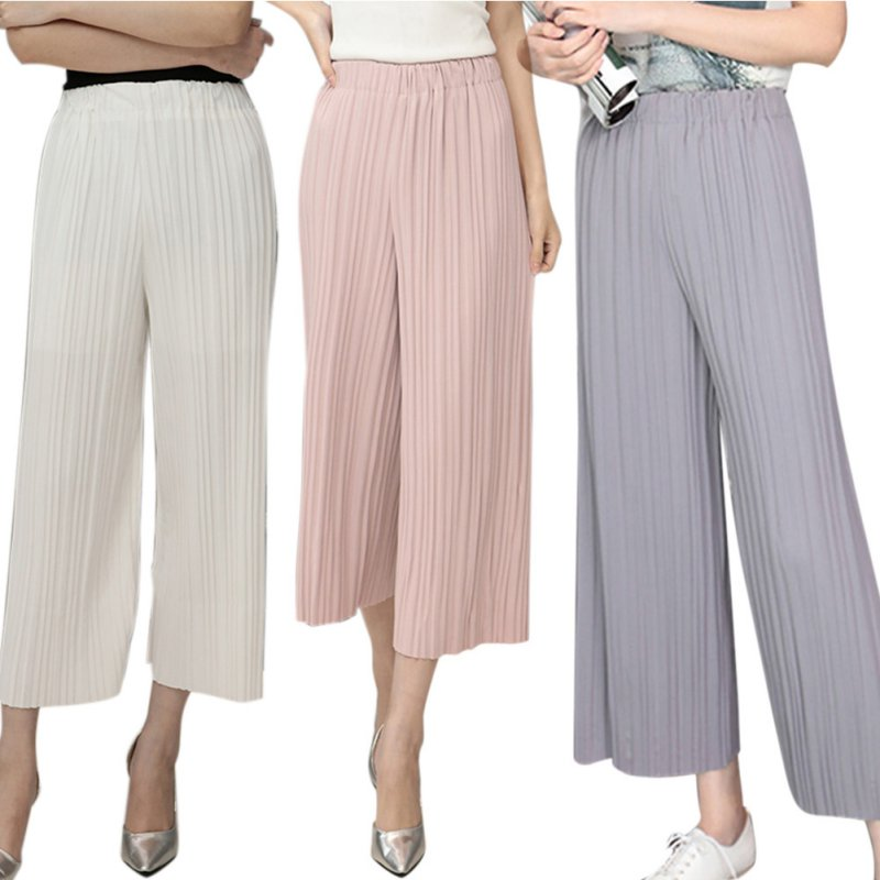 Excellent Loose Pants For Women 2017 Spring/Fall Fashion Winter Pants Women Grey Trousers Mid Waist ...