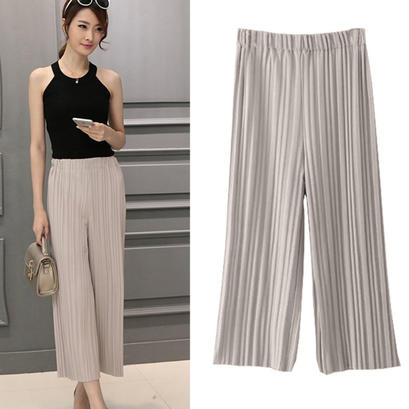 Women Harem Trousers Palazzo Loose Wide Leg High Waisted Beach Casual OL Pants Email to friends Share on Facebook - opens in a new window or tab Share on Twitter - opens in a new window or tab Share on Pinterest - opens in a new window or tab.
