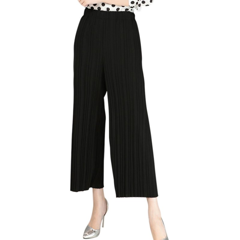 New Women 2016 Korean Summer Pants New Pleated Wide Leg Pants Women Pants