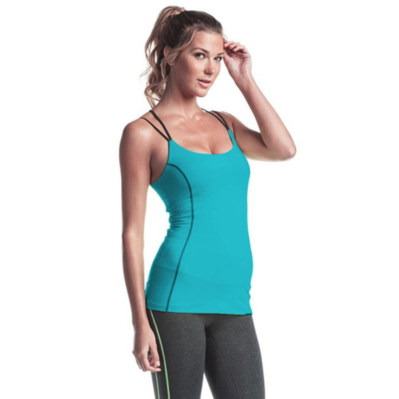 Shop sleeveless shirts and tank tops for women for the lightweight feel and sporty style you love during your workout. Choose tank tops and sleeveless shirts that match your activity: Pull on running tank tops for a streamlined fit and extra support, or try the flowing silhouette of a sleeveless yoga tee or tunic.