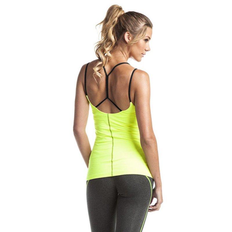 Womens Sleeveless Tank Active Stretch Workout Vest Yoga