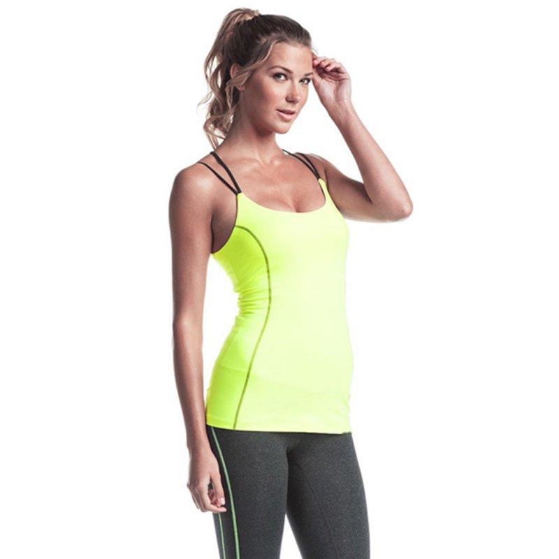 womens sport workout tank top vest t shirt fitness lift yoga blouse gym clothes ebay. Black Bedroom Furniture Sets. Home Design Ideas