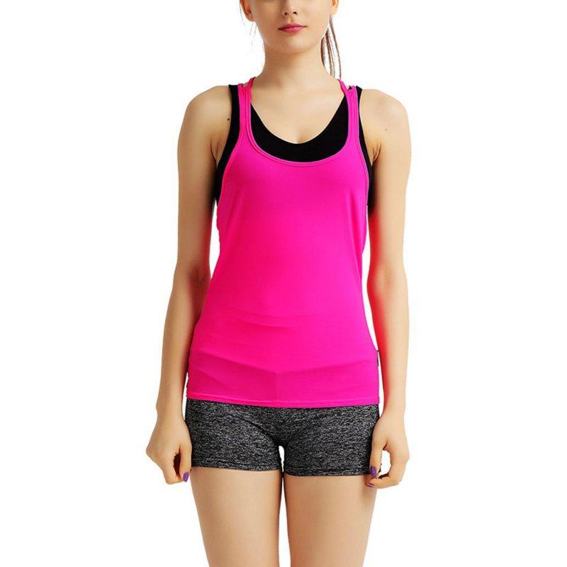Sexy women 39 s workout tank top sleeveless t shirt fitness for Workout shirt for women