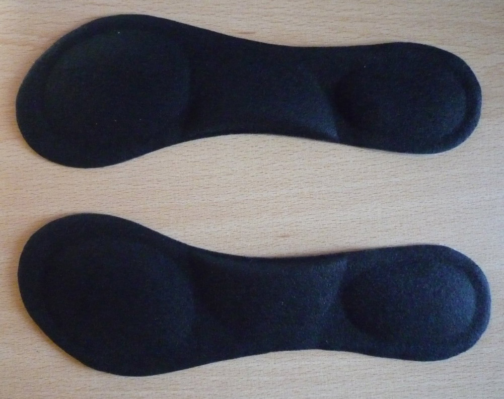 Heel-Foot-Cushion-Pad-3-4-Insole-Shoe-pad-For-Vogue-Women-Orthotic-Arch-Support