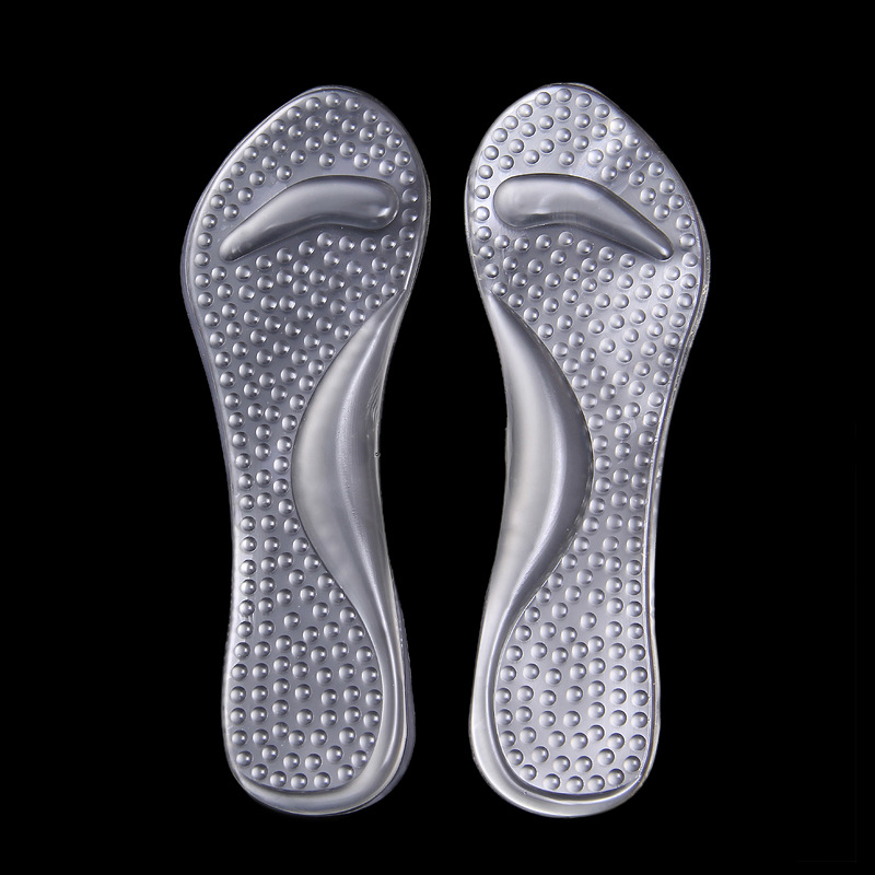 2x gel orthopedic orthotic arch support insole flatfoot